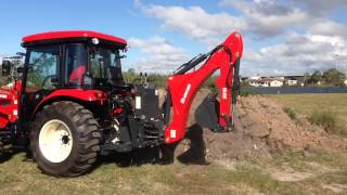 getlinkyoutube.com-NEW BRANSON 6225C AND BH86 BACKHOE ACTION