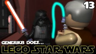"getlinkyoutube.com-LEGO STAR WARS The Complete Saga Ep 13 - ""Saving Princess Leia!!!"""