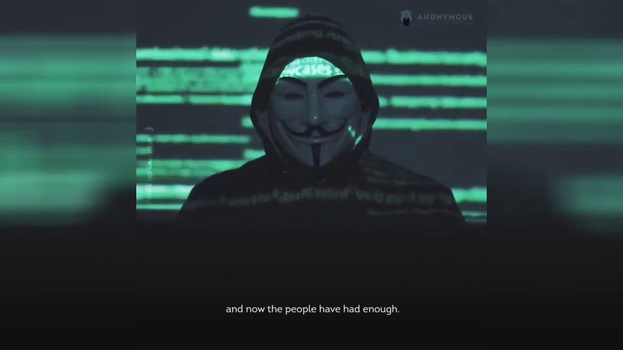 Anonymous Warns the Police