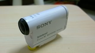 sony action camera hdr-as100 review