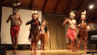 Tarian Pangkur Sagu : seminar Papua di Waldbröl 30.02.2016