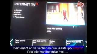 iptv step TV forever hd tutourial comment installer une liste iptv step sur forever hd