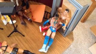 getlinkyoutube.com-WWE action figure set up - Extreme Edition