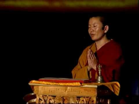 Ani Choying teaching the OM MANI PADME HUM mantra -A4LgHRnlEkg