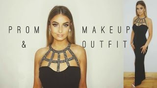 getlinkyoutube.com-Get Ready With Me: Prom/Debs Makeup & Dress 2016 | Aoife Conway 💛