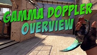 getlinkyoutube.com-CS:GO - Gamma Doppler Knives Overview