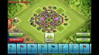 getlinkyoutube.com-Clash of Clans - TH6 Farming Base, Effective Traps, Anti Dragon, Balloon, Giants