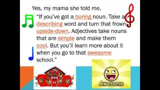 getlinkyoutube.com-Adjective Song: All About That Adjective