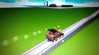getlinkyoutube.com-roblox Thomas and the magic railroad chase