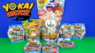 Ultimate YO-KAI Watch Toys Unboxing Medals Surprises Blind Bags Action Figure Opening Hasbro