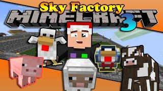 VƯỜN BÁCH THÚ ĐẢO TRỜI (Minecraft Sky Factory 3 #6)