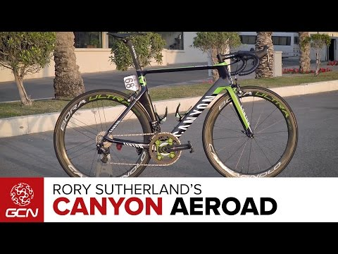 Rory Sutherland's Canyon Aeroad CF SLX Pro Bike