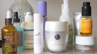 getlinkyoutube.com-Current Skincare Collection:Boscia, Tatcha, Korres, Caudalie, Perricone MD, Fresh, REN + More.