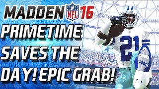 WR DEION SANDERS SAVES THE DAY! GOING DEEEP! - Madden 16 Ultimate Team - MUT 16