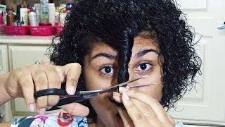 getlinkyoutube.com-Como corto meu cabelo cacheado curto