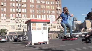 HUVrTech - Le Skateboard volant de Retour vers le Futur II