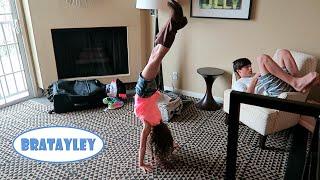 getlinkyoutube.com-Hayley's Hotel Handstands (WK 237.7) | Bratayley