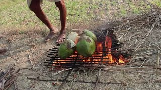 Coconut Chicken - Cooking Chicken In green Coconut In Village Style    Food.in
