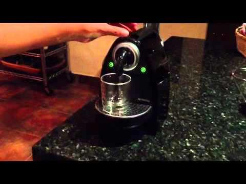 Restablecer Cafetera Nespresso