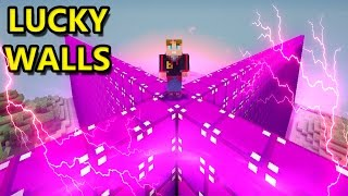 MEGA BATTLE MIT FANTASIA WALLS | Minecraft LUCKY WALLS | baastiZockt
