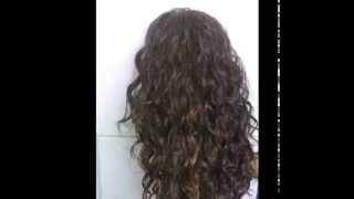 Sensationnel kanubia easy 5 brazilian hair curl Quick Weave Wig - No Glue