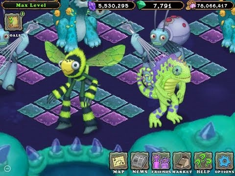 omg two new monsters humbug kazilleon!!!! my singing monsters