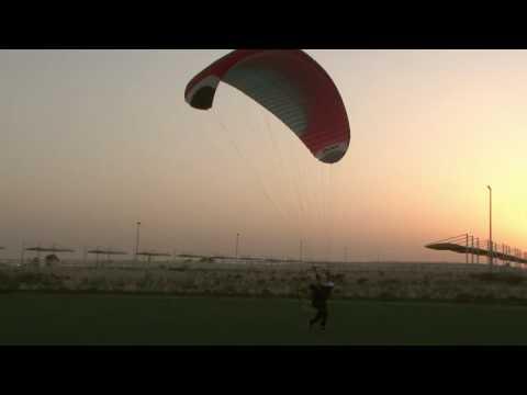 Khalid al-neyadi 14 yrs 1st Flight Paramorot
