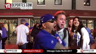 Chicago Cubs Win Wrigley Field NLDS 2017