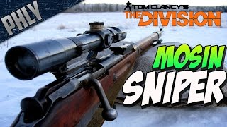 getlinkyoutube.com-The Division Closed Beta - MOSIN-NAGANT SNIPER - The Division Gameplay