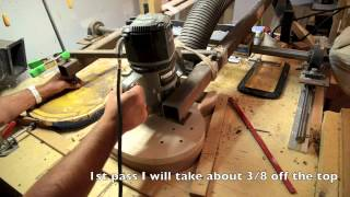 getlinkyoutube.com-Building a Les Paul Guitar body Luthier building process 59 copy