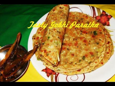Tasty Gobhi Paratha (गोभी पराठा)