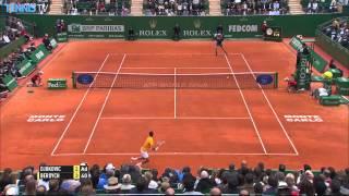 getlinkyoutube.com-2015 Monte-Carlo Rolex Masters Final Highlights - Novak Djokovic v Tomas Berdych