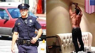 getlinkyoutube.com-شرطي سان فرانسيسكو الأكثر وسامة كريس كورس