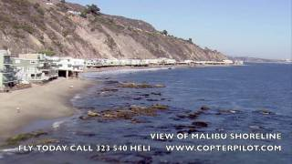 getlinkyoutube.com-Helicopter View of Malibu Shoreline.