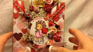 getlinkyoutube.com-SaCrafters Magnolia Tilda Valentine Card Share