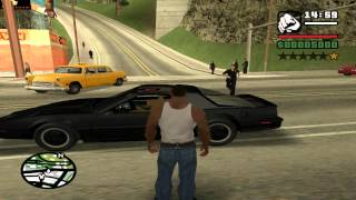 getlinkyoutube.com-GTA: San Andreas - Knight Rider: Old School mod
