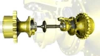 getlinkyoutube.com-Differential Steering | Cat® D6R through D9R Dozer Steering System
