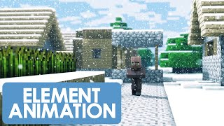 getlinkyoutube.com-Christmas With The Villagers 2 (Minecraft Animation)