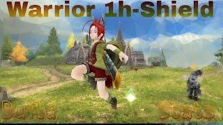 getlinkyoutube.com-Toram Online Warrior 1 Hand - Shield - Build & Tes
