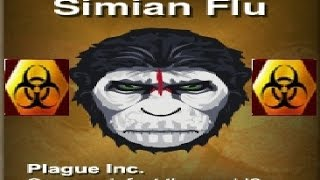 getlinkyoutube.com-Simian flu MEGA BRUTAL Guide [5 STARS] - Plague Inc:Evolved