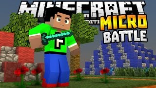 getlinkyoutube.com-MICRO BATTLES MINIGAME 0.14.0!!! - MCPE Fun Minigame - Minecraft PE (Pocket Edition)