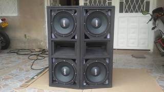 Line Array System  - Prueba de sonido (Parte 7)
