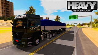 getlinkyoutube.com-Heavy Truck Simulator - MB Axor Skin Transportadora Spolier
