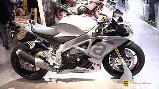 getlinkyoutube.com-2015 Aprilia RSV4 RR - Walkaround - 2014 EICMA Milan Motorcycle Exhibition