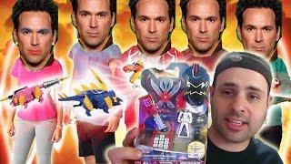 getlinkyoutube.com-Power Rangers Tommy Charge! New Ranger Keys & Figures!