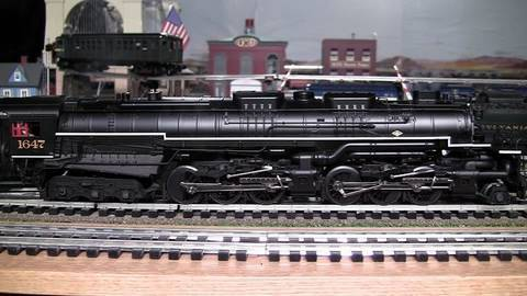 MTH Premier C&O Allegheny (2-6-6-6) O-Gauge Steam Locomotive in True HD 1080p