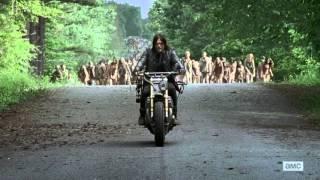 getlinkyoutube.com-The Walking Dead Season 6 Ep 1 - Leading Zombies [HD] - First Time Again