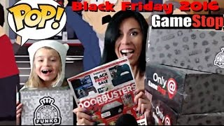Unboxing Gamestop 2016 BLACK FRIDAY Mystery Box Exclusive Funko POPS !!