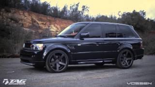 """Range Rover on 22"""" Vossen VVS-CV3 Concave Wheels   Rims"""