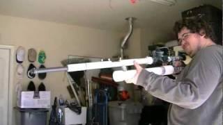 getlinkyoutube.com-Full auto battery shooting air gun 600 rounds per minute